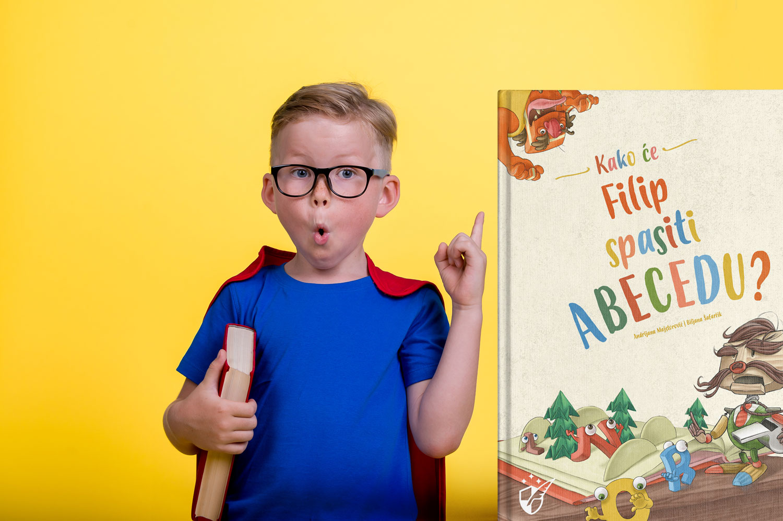 kako cu spasiti abecedu personalizirana knjiga