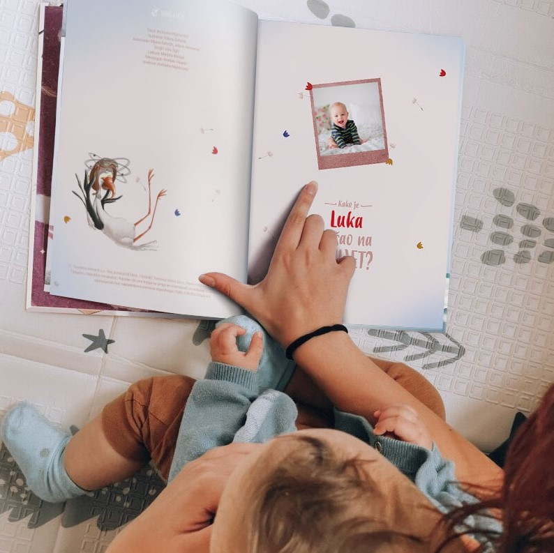prikaz fotografije u knjizi kako sam došao na svijet